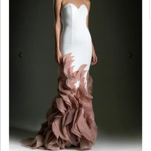 Andrea and Leo gown